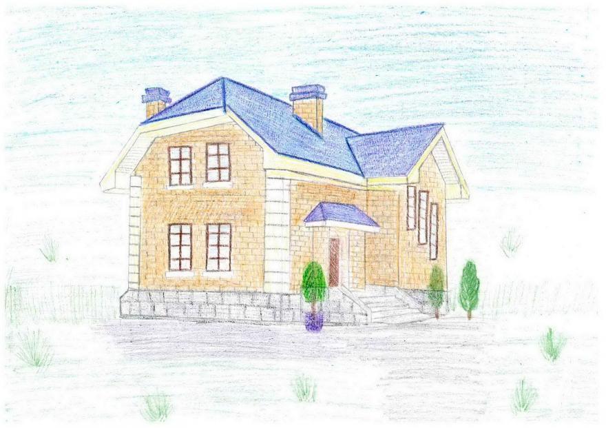 Фото рисунков карандашом дома - нарисованные девушки каранда.